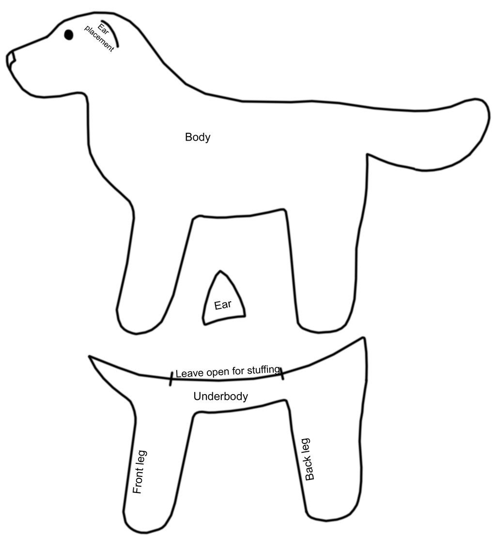 Free Simple Dog Pattern By Bookthief17viantart On