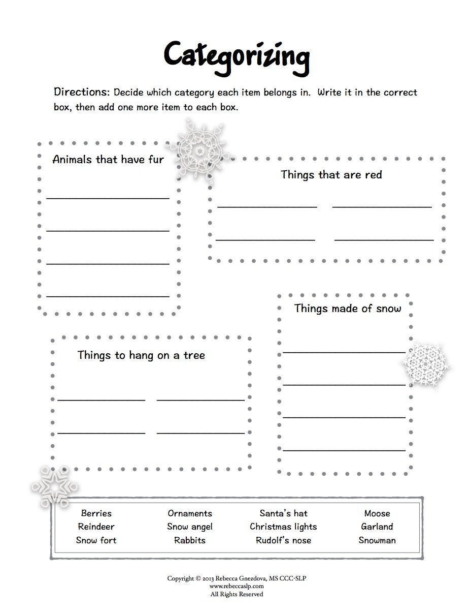 Aphasia Worksheets Printable Expressive