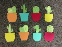Cactus Door Decs | RA Board | Pinterest | Door decs, Cacti ...