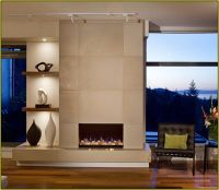 modern tiled fireplaces | Modern Fireplace Tile Ideas ...