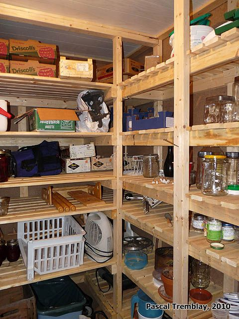 Shelving Cold Room Home Storage Ideas Build A Cold Room Cold