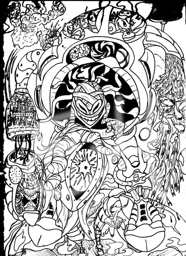 image result for trippy printable coloring pages  camp