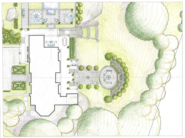 draw landscape plan