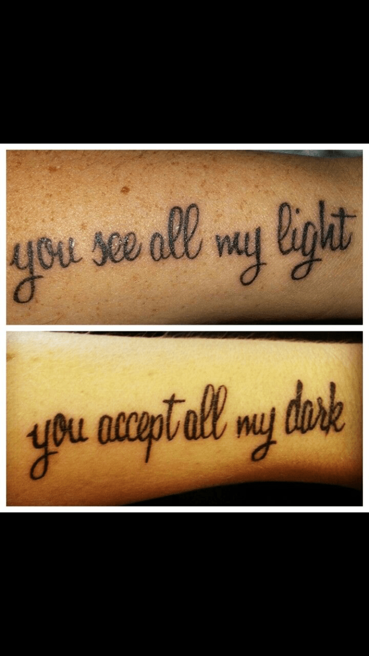 Love Quotes Tattoos For Couples Love Tattoos Couples  Quotes Of The Day