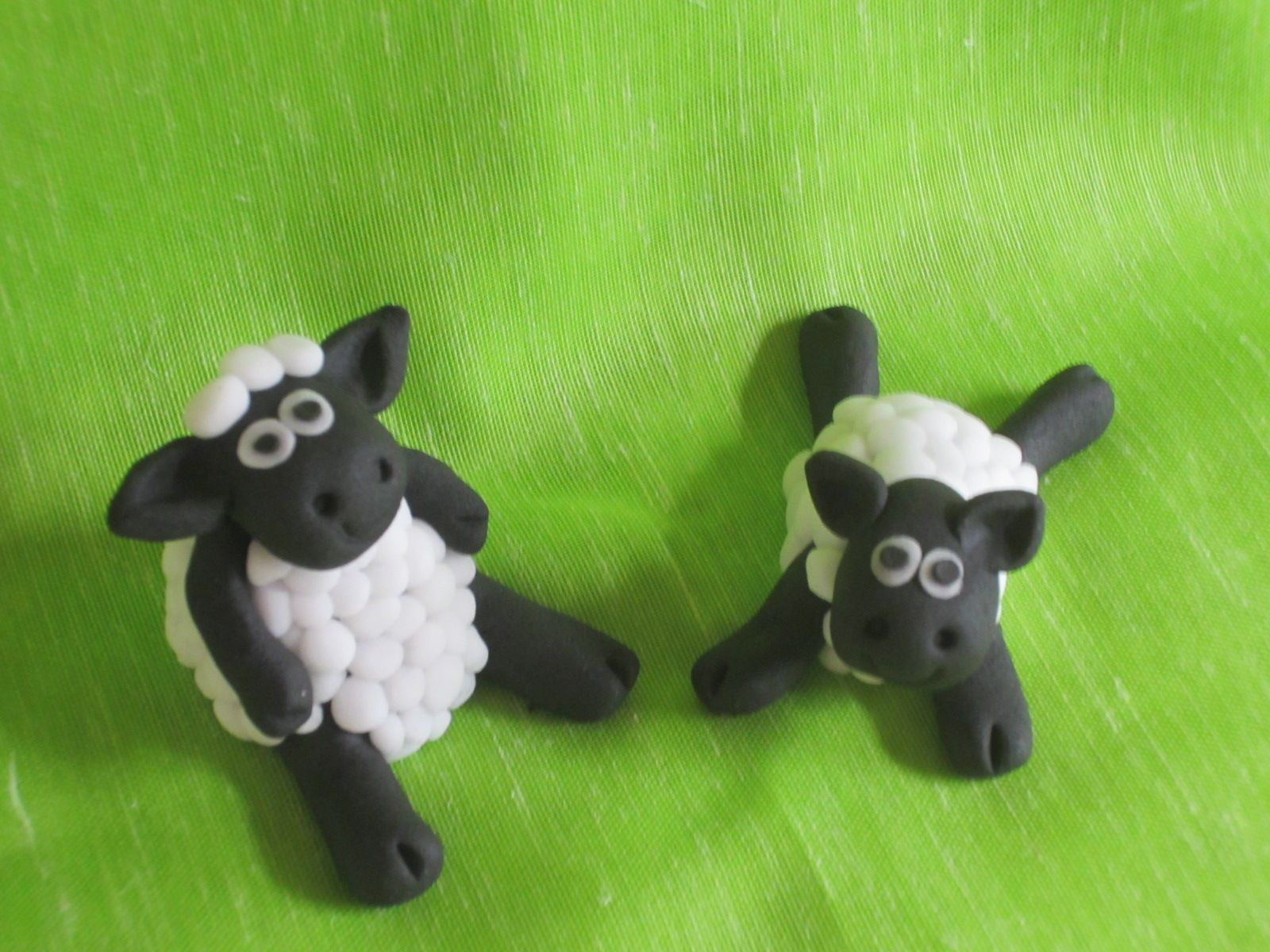 Fondant Sheep Cake Toppers Cakes Pinterest Sheep