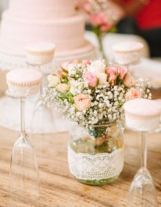 You will die when see the table in this girly vintage chic birthday party featured at kara   ideas plus ll love other too also best images about on pinterest floral arrangements rh