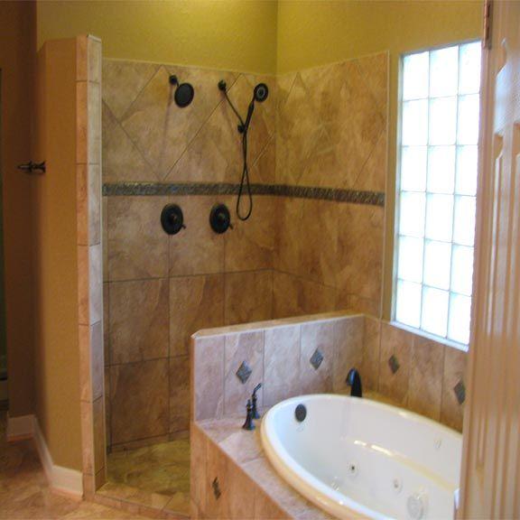 Bathroom Jacuzzi Decor