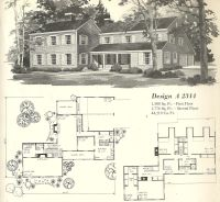 vintage house plan | Vintage House Plans 1970s: Farmhouse ...