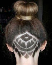 undercut mandala tattoo