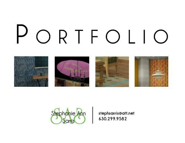 Interior Design Portfolio Cover