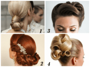 simple hairstyles dance