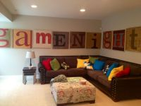 fun family room | decor/home / Fun Family room wall art ...