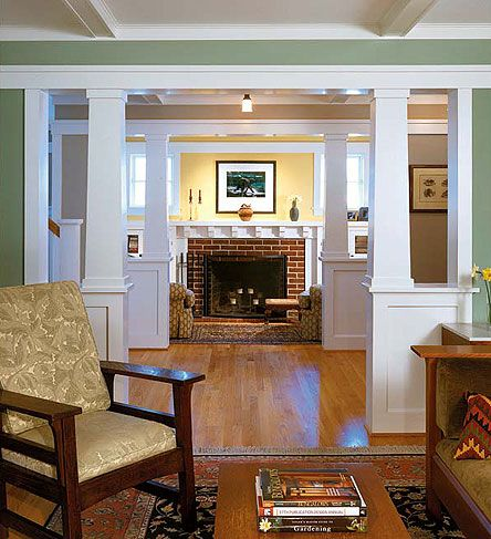 Woodwork & Finishes For The Craftsman Home Craftsman Bungalow