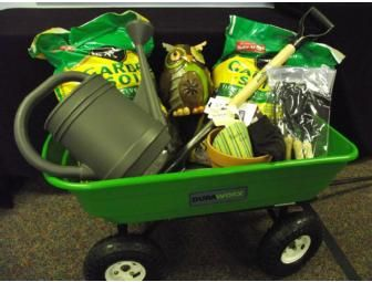 Silent Auction Garden Basket Garden Dump Cart 50 Lowes T