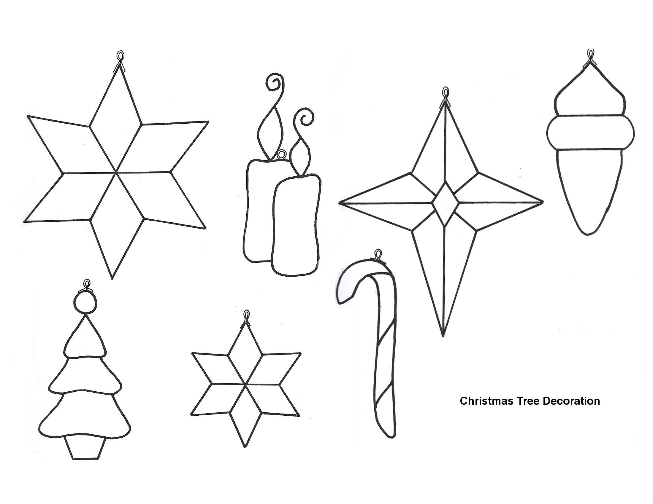 Free Printable Papercraft Templates Felt Christmas
