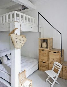 Bed room astounding small bedroom design with bunk interesting box stair little wooden chair ideas in various sty also  home lombardy italy kids rooms and rh pinterest