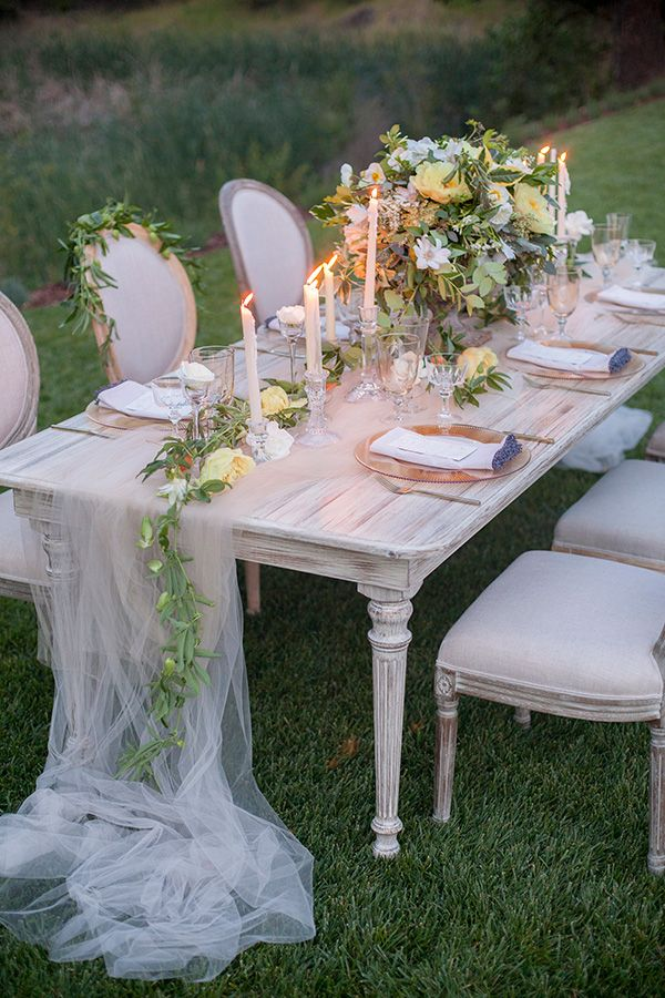 Soft Romantic Garden Wedding Ideas Gardens Runners And Event