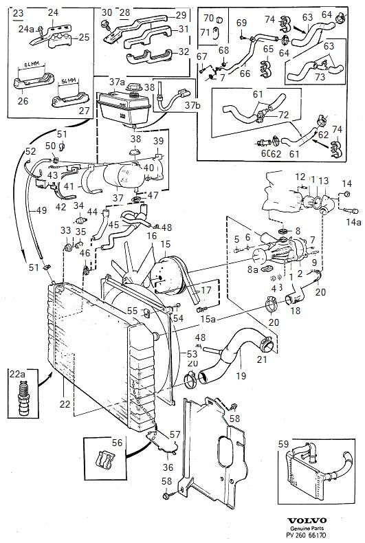 Volvo Xc90 Cooling System Diagram. Volvo. Auto Parts