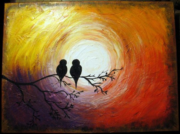 Abstract Painting Of Love Amazing Wallpapers