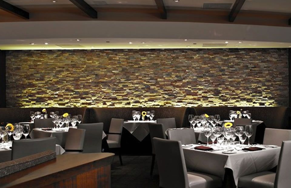 Dining Room Wall Interior Decoration Of Abacus Restaurant Dallas
