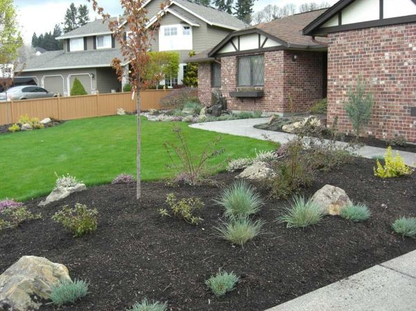 nature front yard landscaping ideas