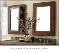 Ronbow Rebecca Mirrored Medicine Cabinets 618125-H01 | My ...