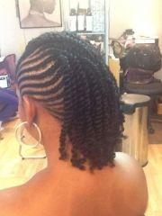 twist mohawk hairstyles african