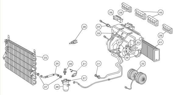 91 Mercedes 560sel Radio Wiring Diagram Mercedes Alarm