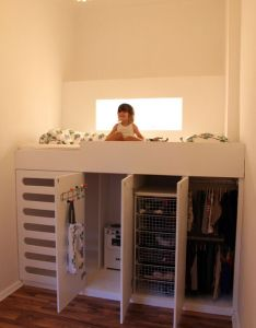 Loft bed with lots of storage underneath sweet this would help get more room for in small rooms space planning home decor and also design ideas your dream credibly creative designs rh pinterest