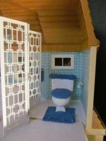 Ooak Barbie House - Created Michele Tunstall