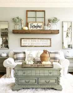 Coffee table shelf couch  symmetrical very soothing arrangement also best images about living room updates on pinterest joanna rh
