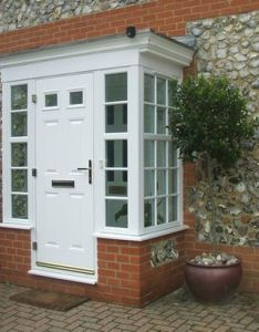 Small enclosed front porch maybe only high window on the sides also best images pinterest rh uk