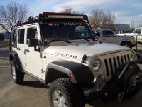 Dig this Gobi Roof Rack w/ spot for LED Light bar | Jeep ...