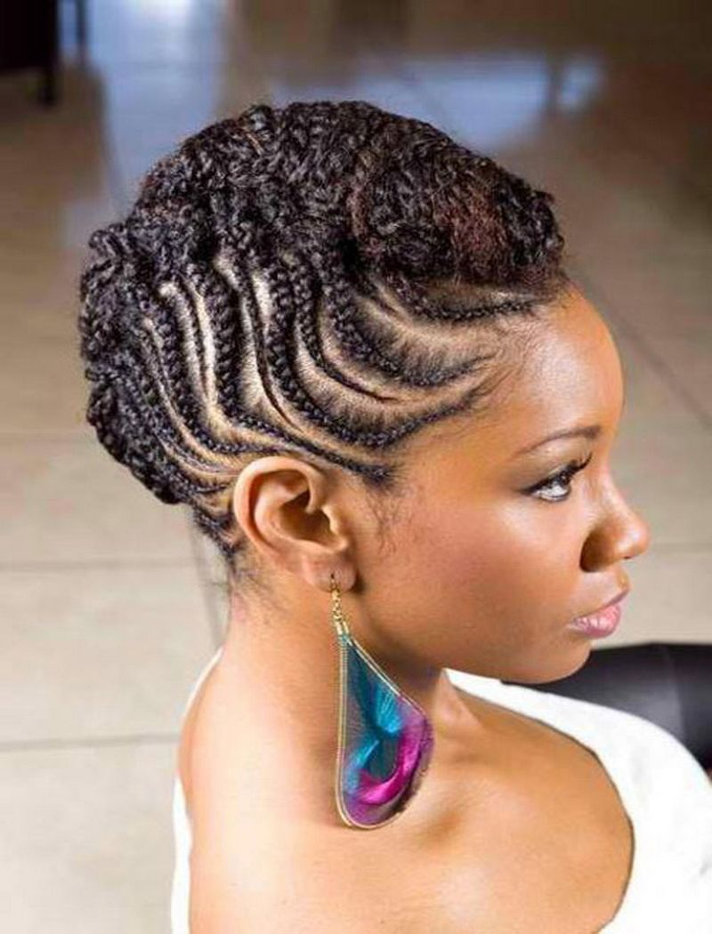 Nice Braid Hairstyles For Black Women