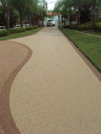 pebble driveway | Epoxy Pebble Driveway http://www ...