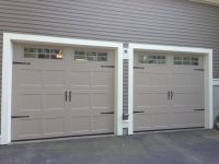 Haas model 2060 Steel Carriage House Style Garage Doors in
