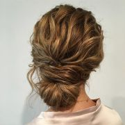 drop dead gorgeous loose updo hairstyle