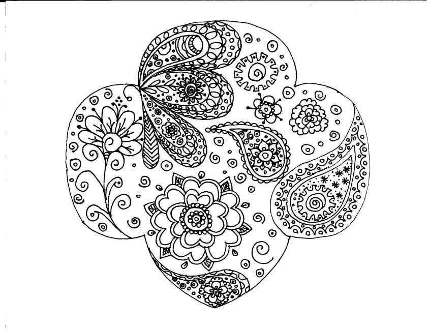 girl scout cookie pages for  coloring pages