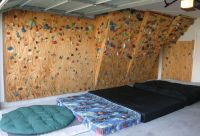 Home Climbing Wall Ideas The wall in february, 2004 ...