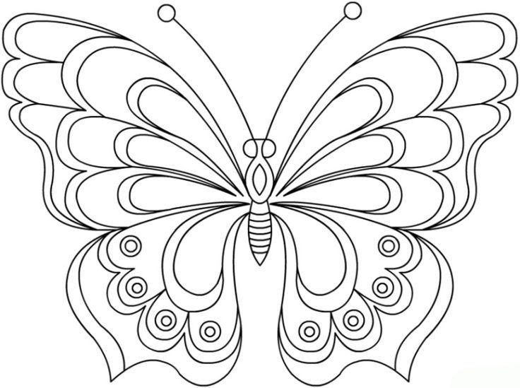 Schmetterling Vorlage Malen 596 Malvorlage Vorlage