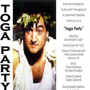 Animal House Toga Party Animal House Toga Party 70s Theme