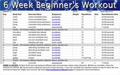 Beginners Workout Routine For Women Yourviewsite Co