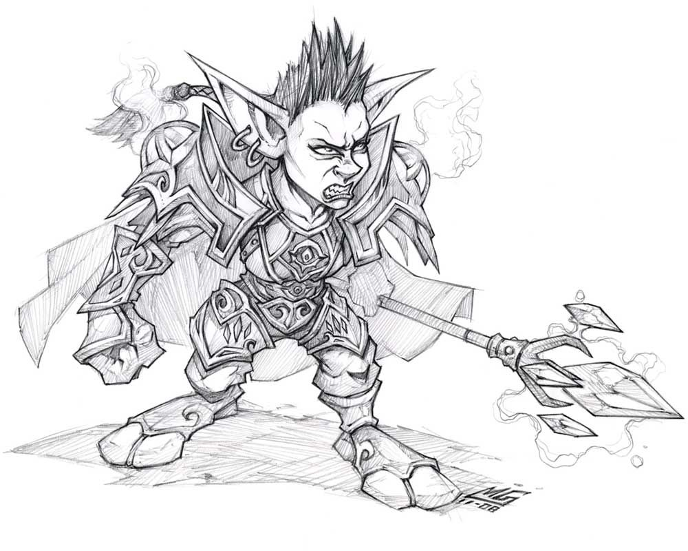 World of Warcraft: Cataclysm Art & Pictures, Goblin Mage
