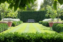 Formal Boxwood Garden Designs