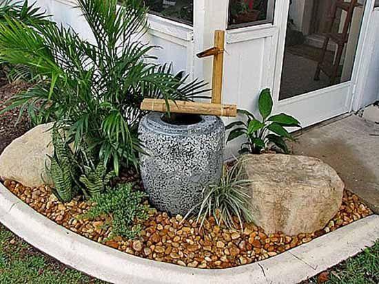 Tsukubai Water Fountains Japanese Garden Design Ideas Gardens