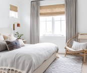 neutral bedroom curtains
