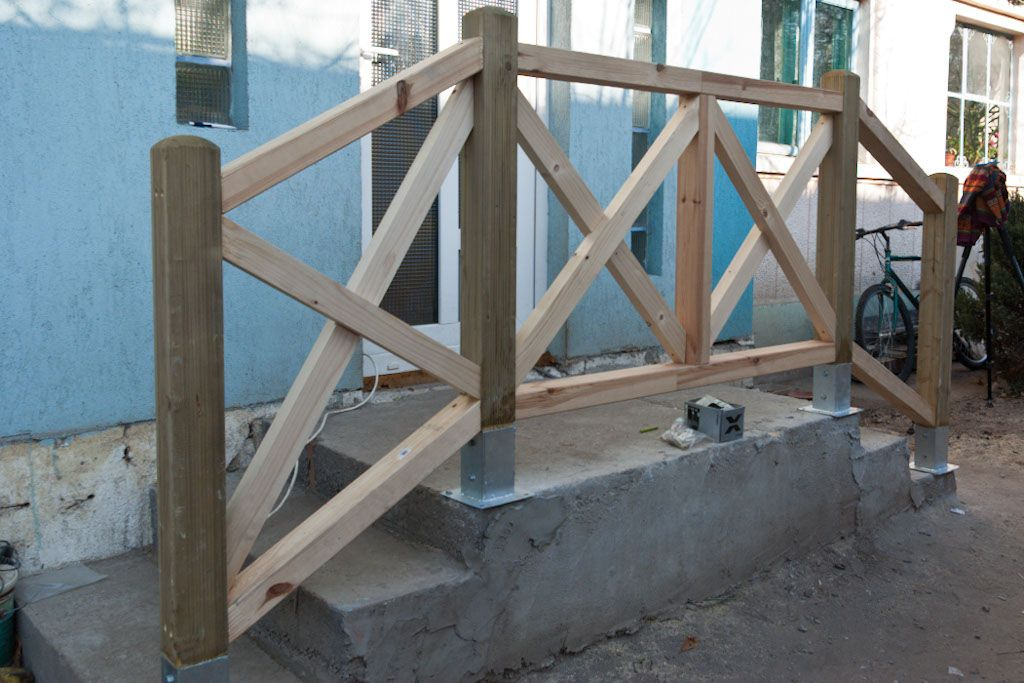 How To Build Deck Stair Railings Howtospecialist How To Build Step By Step