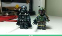 #starwars custom darth vader, boba fett | Custom Lego ...