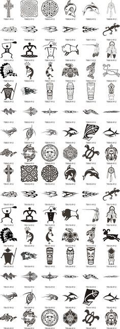 Ancient Latin Symbols And Meanings