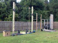 Backyard gym, Gym and Backyards on Pinterest